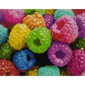 "GХ5266 ""Разноцветная малина"", 40х50 см"