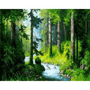 "GX5665 ""Лесной ручей"", 40х50 см"