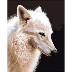 "GX21300 ""Белая волчица"", 40х50 см"