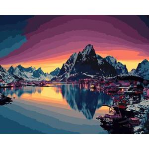 """GX21713 """"Вечерняя Аляска"""", 40х50 см"""