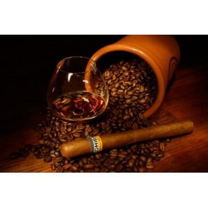 "GX22570 ""Кофе, виски, сигара"", 40х50 см"