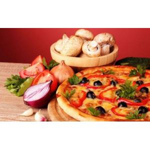 "GX5864 Картина по номерам ""Пицца с грибами"", 40х50 см"