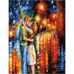 """GХ21136 Картины по номерам """"Поцелуй влюбленных"""", 40х50 см"""