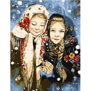 "GX22017 Картина по номерам ""Русские красавицы"", 40х50 см"