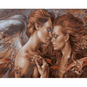 """GX5748 Картина по номерам """"Любовь Ангела"""", 40х50 см"""