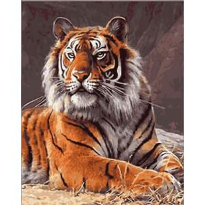 GХ4662 картина по номерам Тигр , 40х50 см