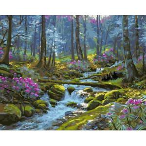 "GX9526 картины по номерам на холсте ""Природа"" 40х50см купить в Омске недорого"