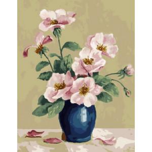 GX9738 Розовые анемоны (худ. Мэри Эдвардс) 40х50 см купить в Омске недорого