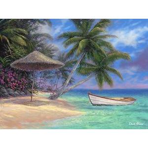 "GX9929 картина раскраска по номерам ""Пляж"" (худ. Chuck Pinson) 40х50 см купить в Омске недорого"