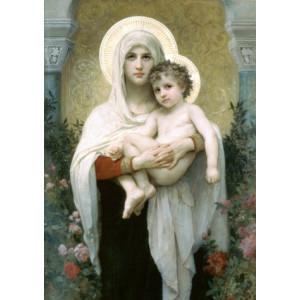 """Q1381 Картина раскраска по номерам на холсте """"Мария Магдалина и Иисус Христос"""" 40x50 см купить в Омске недорого"""