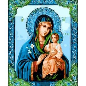 Q1711 Картина по номерам икона неувядаемый цвет 40x50 см купить в Омске недорого
