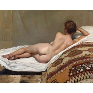 Q1867 Картина по номерам обнаженная красота 40x50 купить в Омске недорого