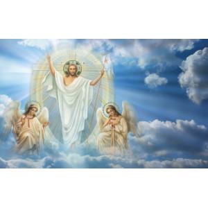 """R2327 Картина по номерам """"Иисус"""" 40x50 см купить в Омске недорого"""