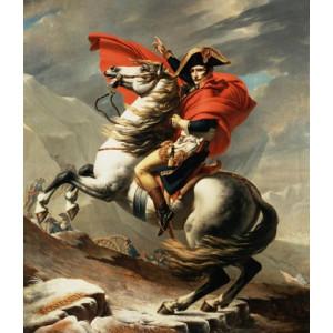 B066 Картина по номерам император на коне 40x50 купить в Омске недорого