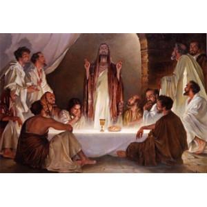 RDG-1480 Картина по номерам молитва всех святых 40x50см купить в Омске недорого