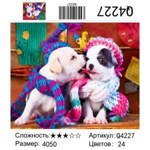 """Q4227 """"Собачий поцелуй"""", 40х50 см"""