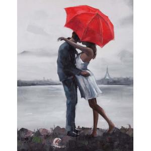 RDG-2348 Картина по номерам любовь на море 40x50см купить в Омске недорого