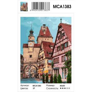 "MCA1383 Картина по номерам ""Ротенбург"", 40х50 см"