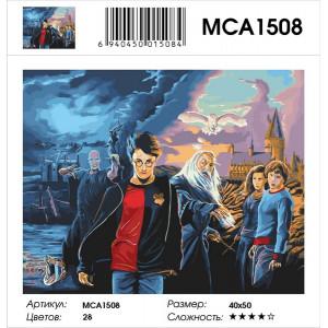 "MCA1508 Картина по номерам ""Волшебники"", 40х50 см"