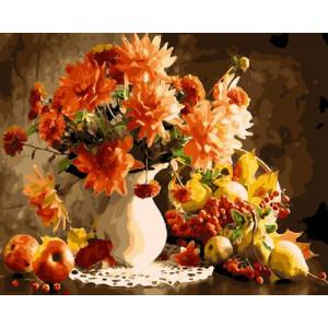 Картина по номерам GX 21309 Яркий букет 40x50 см