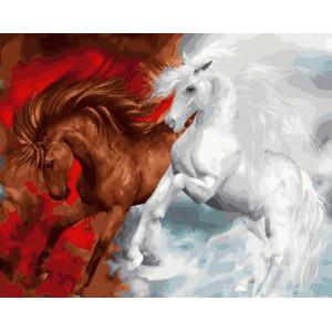 Картина по номерам 40х50 GX 23155 Страсть и нежность 40x50 см