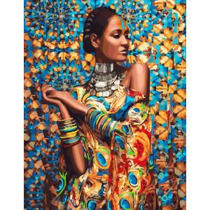 Картина по номерам 40х50 GX 23464 Африканская красавица 40x50 см
