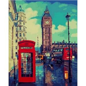 Картина по номерам 40х50 GX 26616 Утро Лондона 40x50 см