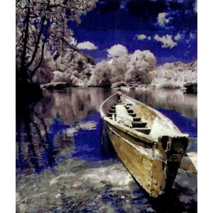 GX27981 Зимнее озеро Картина по номерам 40х50см