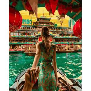 Картина по номерам 40х50 GX 28957 Следуй за мной. Гонконг 40x50 см