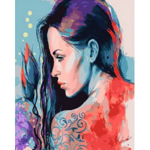 Картина по номерам 40х50 GX 28986 Красота в цвете 40x50 см
