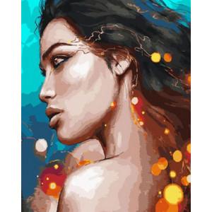 Картина по номерам GX 29040 Мулатка 40x50 см