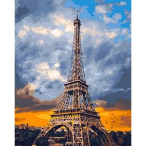 Картина по номерам  GX 29041 Небо Парижа 40x50 см