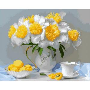Картина по номерам GX29062 Цветы и лимоны 40x50 см