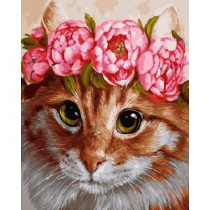 Картина по номерам GX29067 Красавица кошка 40x50 см