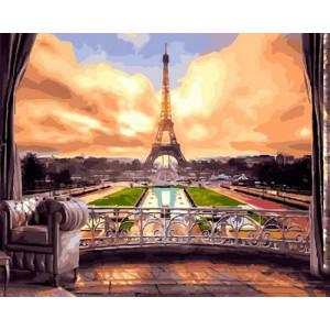 Картина по номерам GX29075 Парк в Париже 40x50 см