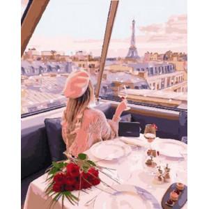 Картина по номерам 40х50 GX 29245 Кафе на крыше 40x50 см