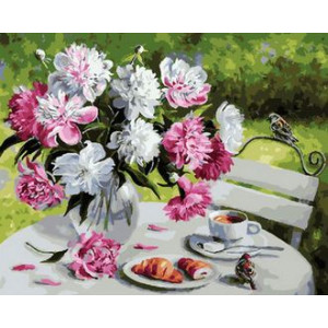 Картина по номерам 40х50 GX 29388 Букет в саду 40x50 см