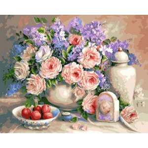 Картина по номерам 40х50 GX 29436 Красивый натюрморт 40x50 см