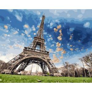 Картина по номерам 40х50 GX 29440 Небо Франции 40x50 см