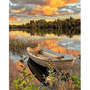 Картина по номерам 40х50 GX 29458 Старая лодка 40x50 см