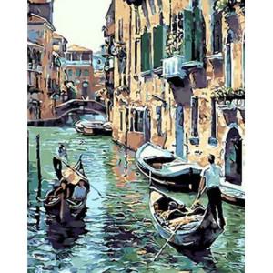 Картина по номерам 40х50 GX 29476 Венецианский канал 40x50 см