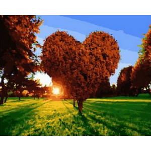 Картина по номерам 40х50 GX 29851 Дерево влюбленных 40x50 см