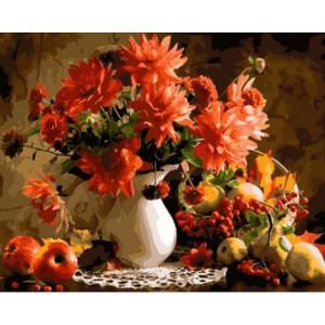 GX29920 Картина по номерам Осенний букет 40x50 см