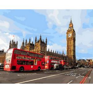 Картина по номерам 40х50 GX 30085 Лондон 40x50 см