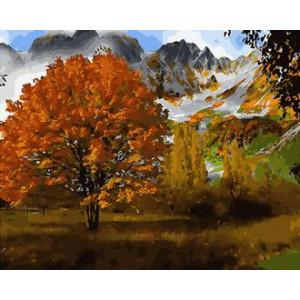 Картина по номерам 40х50 GX 30144 Осеннее дерево 40x50 см