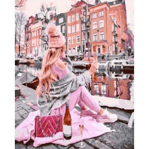 Картина по номерам 40х50 GX 30364 Вино на берегу 40x50 см