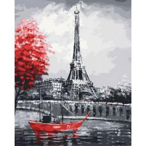 Картина по номерам 40х50 GX 30365 Французская лодка 40x50 см