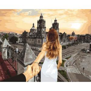 Картина по номерам 40х50 GX 30404 Следуй за мной. Мехико 40x50 см