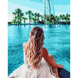 Картина по номерам GX30410 Вид на Дубаи 40x50 см