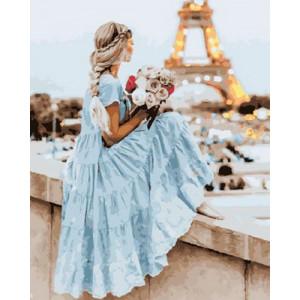 Картина по номерам 40х50 GX 30421 Французский пейзаж 40x50 см